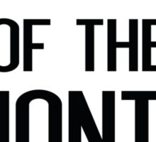 Employee Of The Month Runner Up Sticker