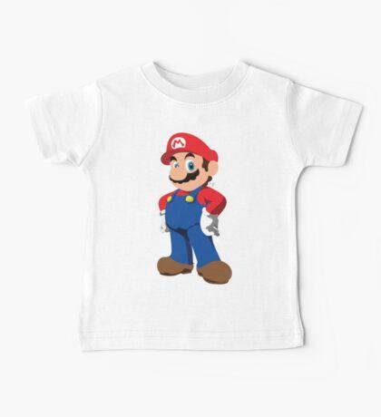 Super Mario Baby Tee