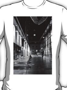 Some Quiet Time B&W T-Shirt