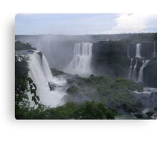 Iguazo Falls, Brazil and Argentina Canvas Print