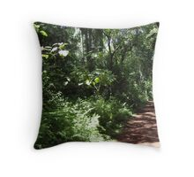 Rainforest in Brazil Throw Pillow