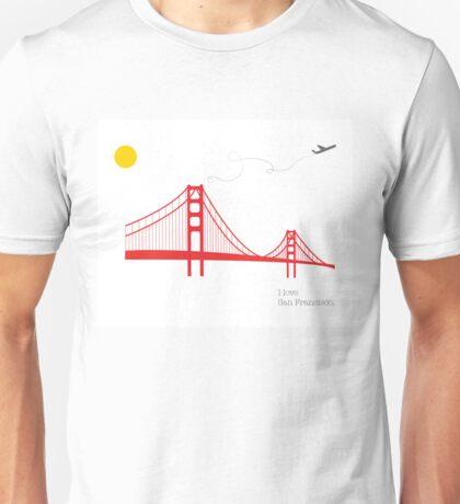 I love San Francisco Unisex T-Shirt