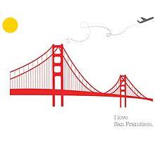 I love San Francisco by Irmak Berktas