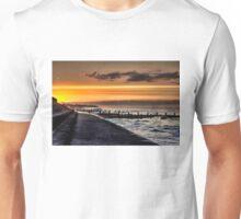 Walcott promenade sunset Unisex T-Shirt