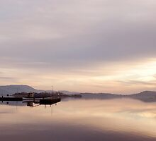 Winter Calm - Mountshannon, Ireland by Orla Flanagan