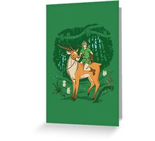 Legend of the Lost Woods Greeting Card