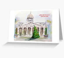 Nottingham Council House Christmas card Greeting Card