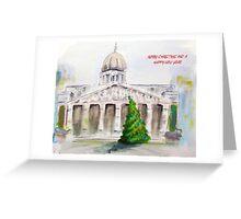 Nottingham Council House Christmas card Greeting Card