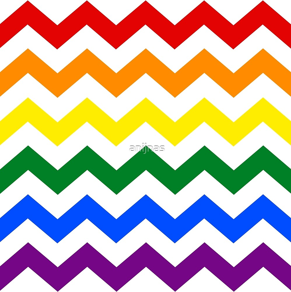 rainbow chevron background - photo #7