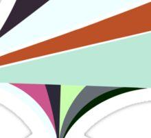 Paper Spaceship 2 Sticker