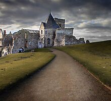 Path to Inchcolm Abbey by Paul  Gibb