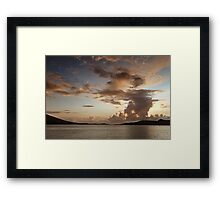 Valentia Sky - Co Kerry, Ireland Framed Print