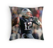 Tom Brady  Throw Pillow