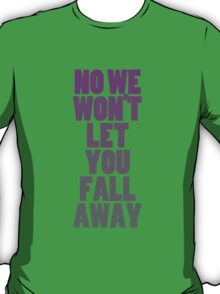 Fall Away (purple) T-Shirt