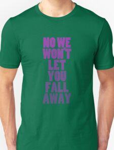 Fall Away (purple) T-Shirt