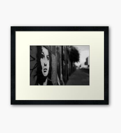 URBAN BEAUTY Framed Print