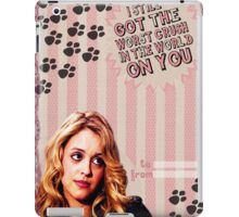 My Teenwolfed Valentine [I Still Got The Worst Crush On You] iPad Case/Skin