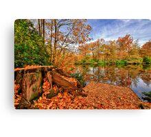 Forty Hall Autumn Canvas Print