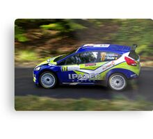 Rally of France 2010 Kuipers D. Metal Print