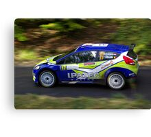Rally of France 2010 Kuipers D. Canvas Print