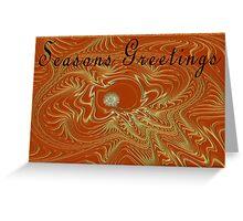 Seasons Greetings - Greeting Card Greeting Card