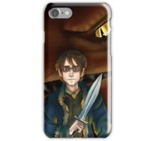 Bilbo Baggins and Smaug iPhone Case/Skin