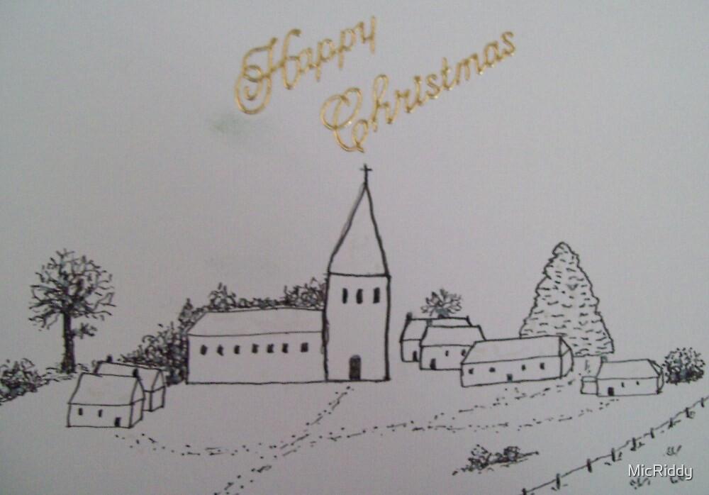 Christmas Church 1 by MicRiddy