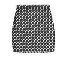 Touche Truchet design pattern Mini Skirt