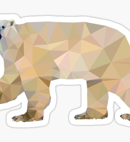 Arctic bear Sticker