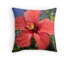 Exotic Flower Throw Pillow