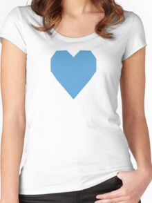 Carolina Blue  Women's Fitted Scoop T-Shirt