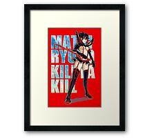 Mako Kill la Kill Framed Print