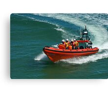 Sheringham Lifeboat Canvas Print