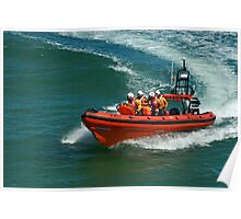 Sheringham Lifeboat Poster