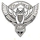 Owl Emblem by M McKeithen