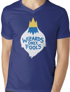 Wizards Only, Fools Mens V-Neck T-Shirt