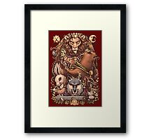 ARMELLO - Battle for the crown Framed Print