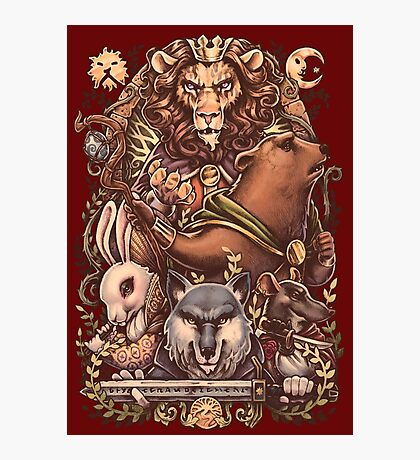 ARMELLO - Battle for the crown Photographic Print