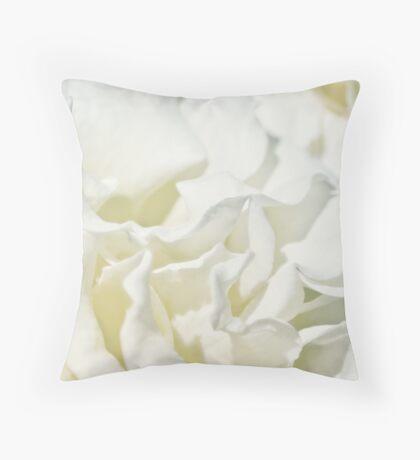 Vanilla Malt Throw Pillow