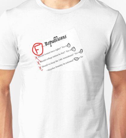 """""""F"""" Republicans Unisex T-Shirt"""