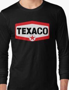 TEXACO OIL RACING VINTAGE LUBRICANT Long Sleeve T-Shirt