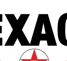 TEXACO OIL RACING VINTAGE LUBRICANT Sticker