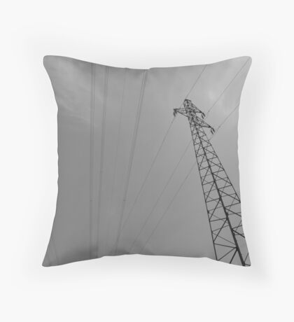 line/ one Throw Pillow