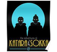 The Adventures of Katara and Sokka Poster