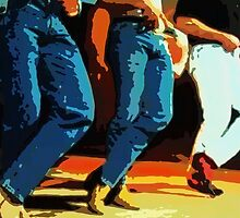 Line Dancers by exvista