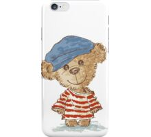 Teddy bear and clothes iPhone Case/Skin