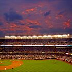 Sunset at Yankee Stadium by DCphotographs