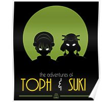The Adventures of Toph and Suki Poster