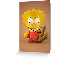 Lisa Simpson Greeting Card
