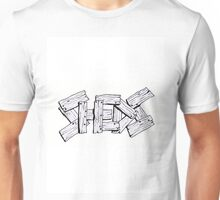 Sheds white Unisex T-Shirt